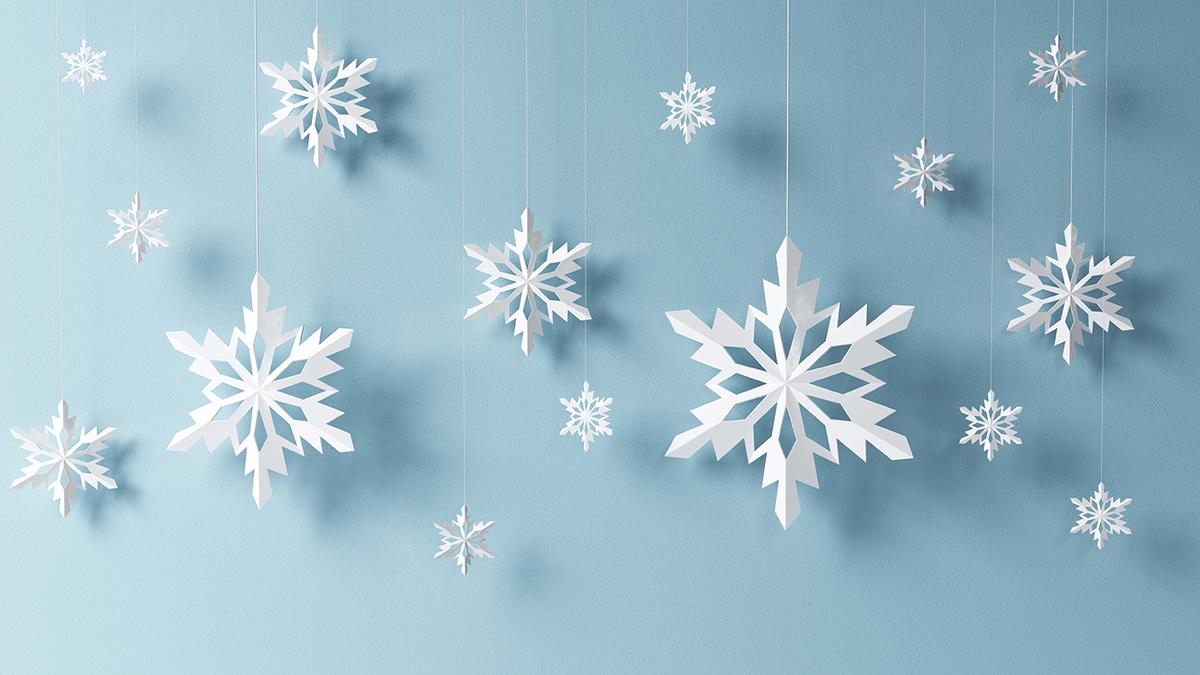 Schneeflocken Aus Papier Basteln